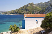 Orthodox Church on Samos — Stock Photo