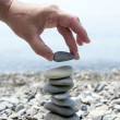 Stock Photo: Concept of equilibrium