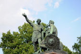 Monument to Minin and Pozharsky. Moscow — Stock Photo