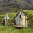 Icelandic turf houses — Stock Photo #10745554