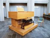 An organ in the church — Stock Photo