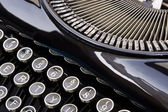Antique Typewriter close up — Stock Photo