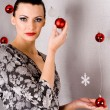 Holiday Girl — Stock Photo