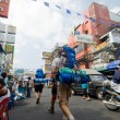 Stock Photo: Khao SRoad Backpackers, Bangkok, Thailand