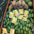 Damnoen Saduak Floating Market Fruit, Bangkok, Thailand — Stock Photo