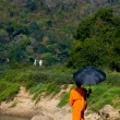 Luang Prabang Monk — Stock Photo