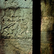 Wall Etchings, Angkor, Cambodia — Stock Photo