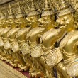 Wat Phra Kaeo Temple Guardians, Bangkok, Thailand. — Stock Photo #11002104