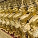 Wat Phra Kaeo Temple Guardians, Bangkok, Thailand. — Stock Photo