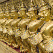 Wat Phra Kaeo Temple Guardians, Bangkok, Thailand. — Stock Photo