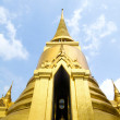 Golden Chedis, Grand Palace - Bangkok, Thailand — Stock Photo