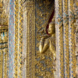 Intricate Wat Detail, Grand Palace - Bangkok, Thailand — Stock Photo