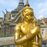 Garuda (Wat Phra Kaeo Temple), Bangkok, Thailand. — Stock Photo