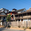 Homes in Luang Prabang — Stock Photo