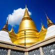 Stock Photo: Golden Chedi, Royal Palace Bangkok