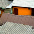 Tin Roofs - Bangkok, Thailand — Stock Photo