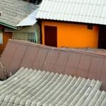 Tin Roofs - Bangkok, Thailand — Stock Photo