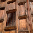 Teak Wat Detail in Chiang Mai, Thailand — Stock Photo