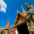 Grand Palace Guardians - Bangkok - Stock Photo
