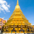 Grand Palace (Wat Phra Kaeo) - Bangkok, Thailand - Stock Photo