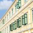 Vivid Colonial Windows - Stock Photo
