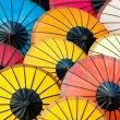 Colorful Asian Umbrellas — Stock Photo