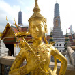 Golden Statue, Bangkok - Stock Photo
