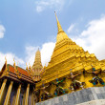 Demon Chedi - Grand Palace, Bangkok — Stock Photo