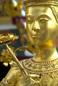 Gold Statue Close-up — Stock Photo