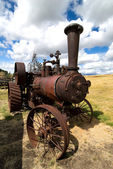 Old Steam Tractor — Stock Photo