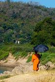 Luang Prabang Monk — Stock Photo