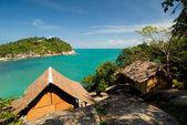 Ko Pha Ngan beach scene, Thailand — Stock Photo