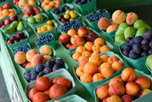 Outdoor Fruit Stand — Stock Photo