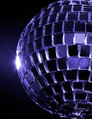 Blue hued Disco Ball — Stock Photo