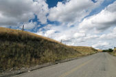 Landelijke weg — Stockfoto