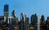 Coal Harbour Urbanscape - Vancouver, Canada — Stock Photo