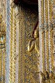 Intricate Wat Detail, Grand Palace - Bangkok, Thailand — Stock Photo