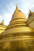 Golden Chedi, Grand Palace, Bangkok — Stock Photo