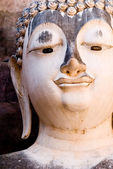 Sukhothai Historical Park - Buddha Head — Stock Photo