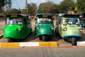Tuk-tuks Ayutthaya, Thailand. — Stock Photo