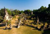 Parque de Buda, vientiane. Laos — Fotografia Stock