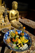 Offerings for Buddha — Stock Photo