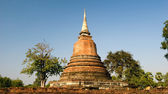 Chedi Ruins - Sukhothai, Thailand — Stock Photo