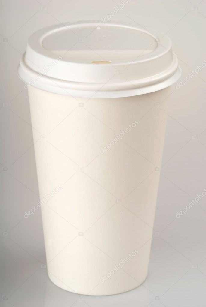 This image shows a Disposable Coffee Cup — Stok fotoğraf #11001613