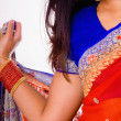 Sari Detail - Stock Photo