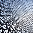 Mesh Into The Sky - Stock Photo