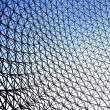 Mesh Into The Sky — Stock Photo