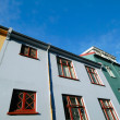 Colorful Buildings - Reykjavik, Iceland — Stock Photo