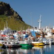 "Heimaey harbor - ""Westman Islands"" (Vestmannaeyjar), Iceland — Stock Photo #11086374"