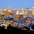 Stock Photo: Montreal, Canadby night